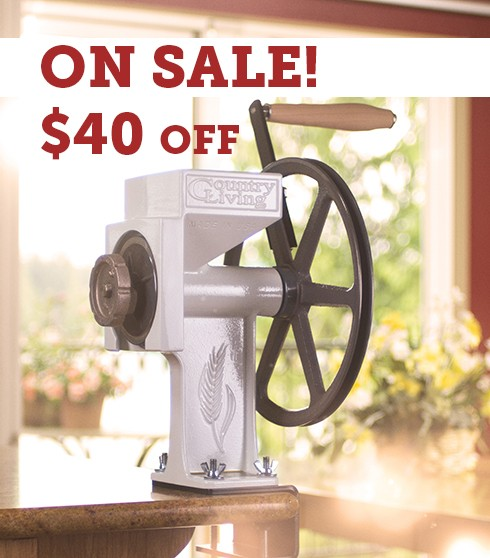 The World S Finest Hand Grain Mill Country Living Grain Mills